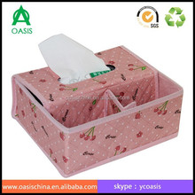 Multifunction Creative Nonwoven Fabric Tissue Box With Storage Cases