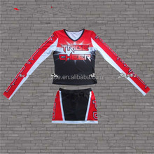 Customized newest style sexy girl competitive cheer uniforms,High Quality Cheer Leading Uniforms