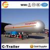 60CBM LPG tank trailer LPG semi trailer LPG propane tanker trailers