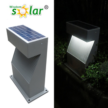 New products 2014 smart design 5w solar panel solar led garden lamp with 6v volt lithium ion battery (JR-CP08)