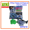 Latest and newest low price plastic spinning top toy
