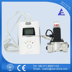 Portable Methane Gas Detector With Shut-off Valve