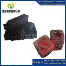 Natural bamboo material barbecue (BBQ) application square bbq charcoal