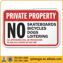 American reflective material road sign,advertising road signs,retangle road signs