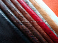 PVC material pruse leather fabric