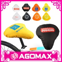 Customized bike seat rain saddle cover waterproof kids bicycle covers