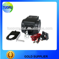 Tuopu all kinds of marine electric winches for boats, electric winch drum