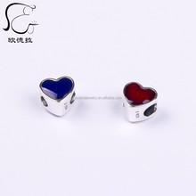 Attractive high quality heart charm friendship bracelet