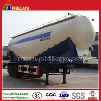2-4 Axles Widely Used Bulk Cement Trailers For Sale/Powder Material Tanker Semi Trailer