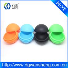 single round ball silicone ice cube tray LFGB standard ice tray/Ball Shaped Ice Cube Tray