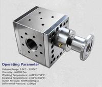 high temperature metering gear pump melt pumps for you