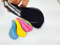 Beautiful cleaning boar bristle vent hair brush