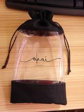 Wholesale high quality Custom lingerie bag , transparent bag