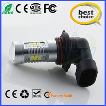 The best choice for car led H10 3528/2835smd 21SMD Auto led h10 800lm foglamp h10 led 12v foglight fog auto bulb best price
