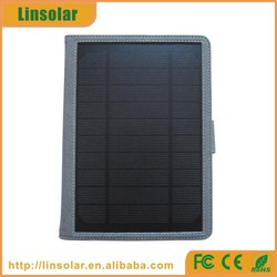 2015 europe best selling 8000mAh solar outdoor tablet charger for ipad android tablet