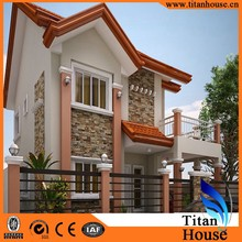 European style luxury china modern cheap prefab home for sale