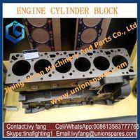 Wholesale Price 6D125 Engine Cylinder Block 6151-22-1100 for Komatsu PC400-6 PC450-6