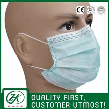 children nonwoven disposable 3 ply ear-loop custom printed surgical face mask design