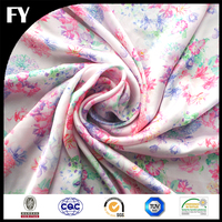 Custom digital printed 100%polyester different types of fabric