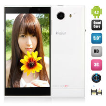 5'' INew V3 Ultra Slim Dual SIM Mobile Phone MTK6582 Quad Core 1GB+16GB Gorilla Glass OGS Screen 13.0MP Camera OGS NFC 6.5mm