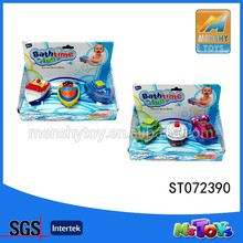 Bath toy style and PVC plastic type rubber bath toys ship for baby