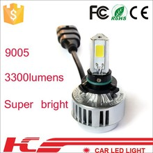 2015 HOT HOT SELL !360 Emitting Best quality 3 side super bright led headlight for toyota avanza
