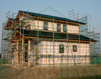 waterproof and breathable house wrap