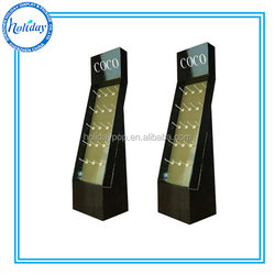 Mobile phone case cardboard display stand with Hook/ Peg