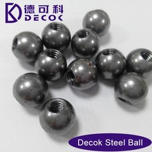 SS Steel Sphere with thread Stainless Steel Hollow Ball With Nut
