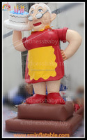 promotion inflatable old woman , holiday living inflatables , inflatable woman for events