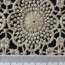 Golden thread high quality african cord lace