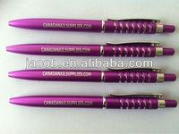 2015 New design ballpoint pens 1000pcs free shipping imprint logo