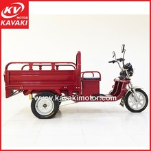 Kavaki Hot Sales High Quality Battery Operated Tricycle With Rear Cargo Box / Small Mobile Cargo Cart