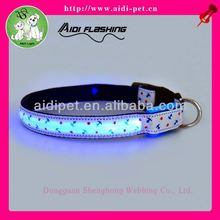 cheap led light dog collar/show collars for dogs