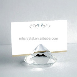 Crystal Collection Diamond design place card holders MH-B0181