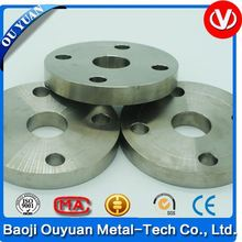 astm b381 titanium flange for industrial use