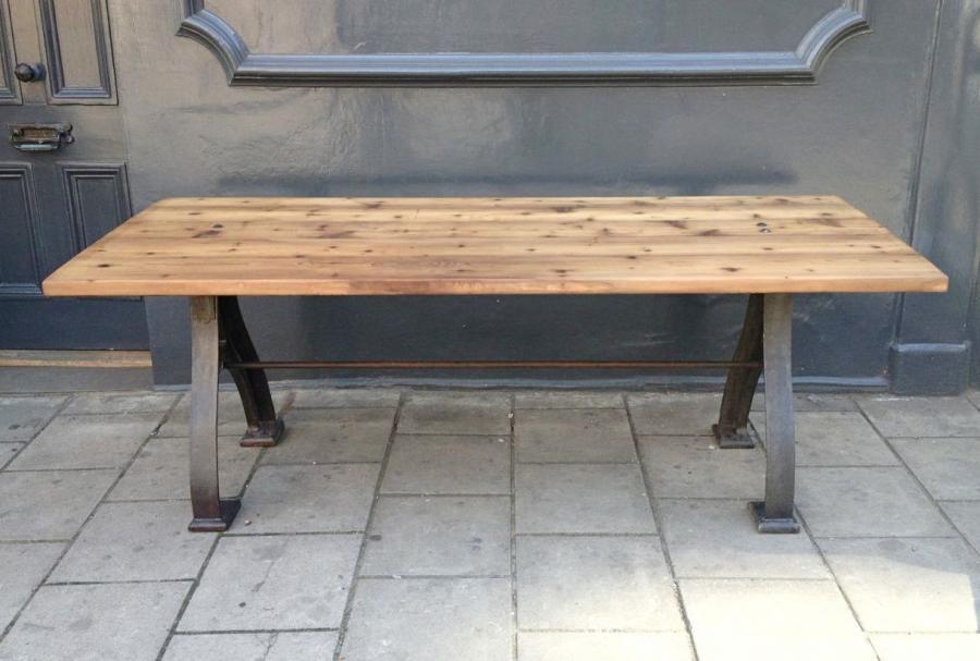 Black Metal Leg Coffee Table