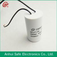 capacitor cbb60 250vac 370vac 400vac 450vac capacitor 70uf
