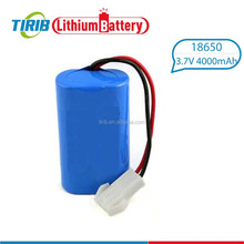 Excellent Quality 4000mah 3.7v High Drain 18650 Battery Pack
