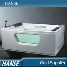 HS-B1659T double apron tub,computer controlled massage bathtub,fanci bathtub