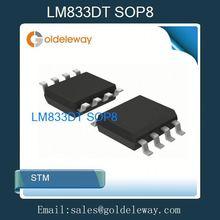 ( electrónico ics papasfritas) lm833dt sop8 lm833dt sop 8,833dt así que, lm833dt sop, 833dt sop, así que lm833dt, 833dt sop8