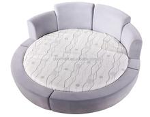 latest luxury designs round bed on sale