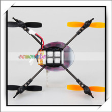 Top Selling Remote Control 4-Channel UFO Helicopter Mode 2 Controlled by Left Hand Purple