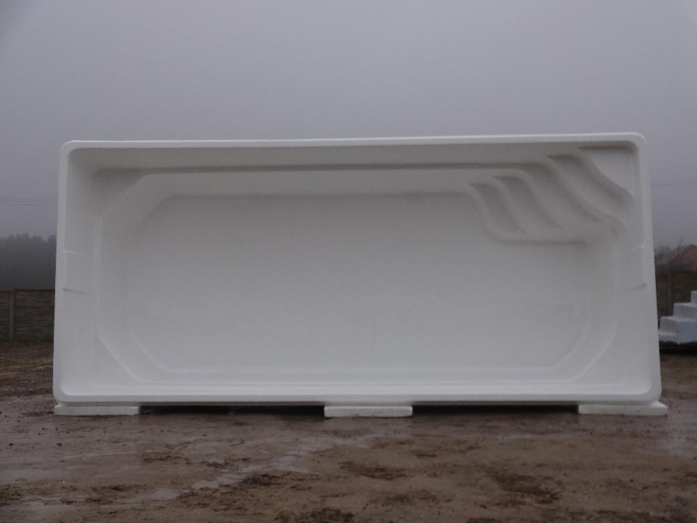 Fiberglass swimming pool ibiza x winter for Fiberglass drop in pools prices