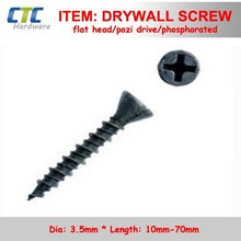 E.G. Pozi Drive Trim Flat Head Drywall Screws With Sparsity Ribs
