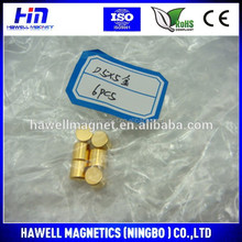 magnets strong ith gold coating