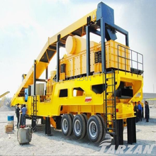Tarzan provide mobile crushers/stone crushing plant/rock crushers in shanghai