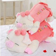 stuffed cute plush pink pig