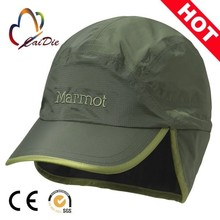 Promotional Logo Printed Cheap Custom baseball cap with ear flaps