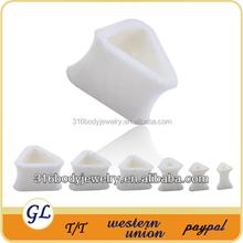 TP03082 silicone triangle opal ear plugs